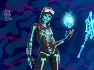 Skeletara Fortnite wallpaper