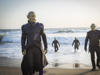 Skrulls In Captain Marvel Movie 2019 wallpaper