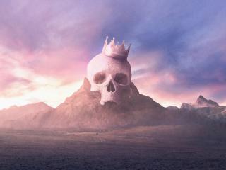 Skull King wallpaper