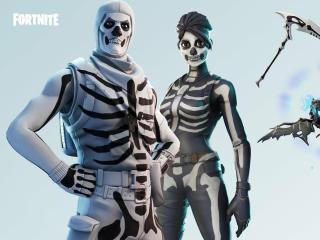 Skull Trooper and Ghoul Trooper Fortnite wallpaper