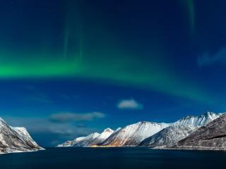 Sky Aurora Borealis wallpaper