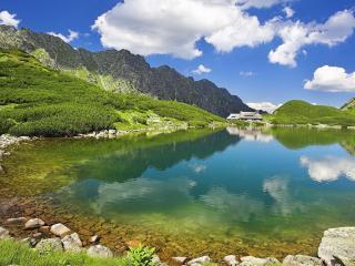 sky, nature, lake wallpaper