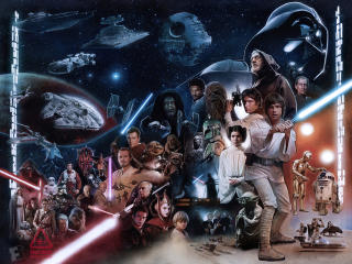 Skywalker Star Wars wallpaper