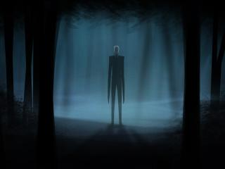 Slender Man Artwork wallpaper