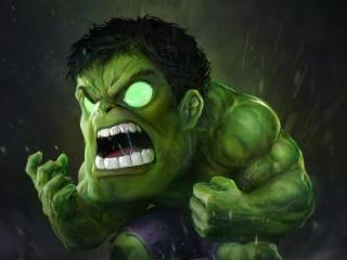 Small Angry Hulk wallpaper