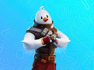 Snowmando 4K Fortnite wallpaper