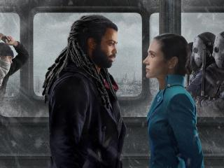 Snowpiercer Jennifer Connelly and Daveed Diggs wallpaper