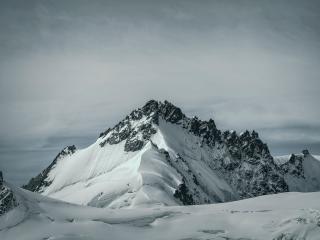 Snowy 8K Mountain 2021 wallpaper