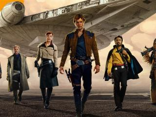 Solo A Star Wars Story Movie wallpaper