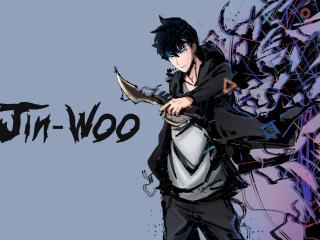 Solo Leveling Sung Jin-Woo wallpaper