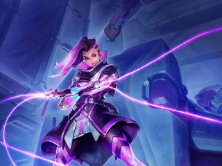 Sombra Overwatch Hacker wallpaper