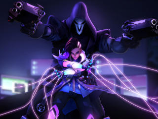 Sombra Reaper Overwatch 4k wallpaper
