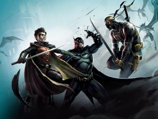 Son of Batman Fight wallpaper