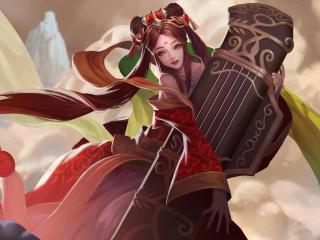 Sona Art League Of Legends wallpaper