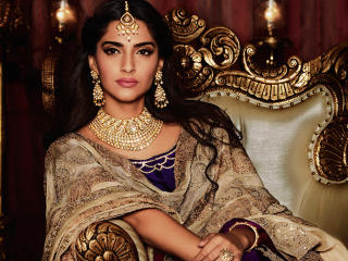Sonam Kapoor Traditional Look wallpaper
