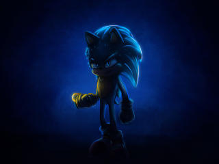 Sonic 2020 4k Artwork wallpaper