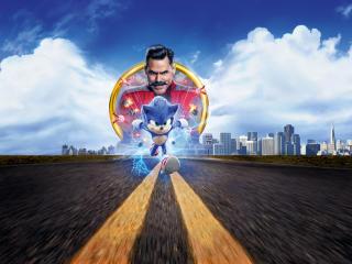 Sonic the Hedgehog 8K Movie wallpaper