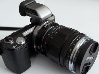 sony, camera, lens wallpaper