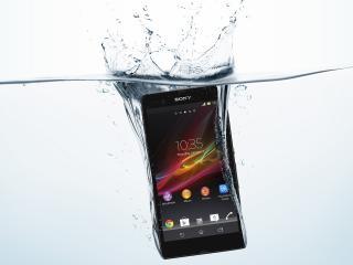 HD Wallpaper | Background Image sony, waterproof, xperia