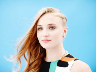 Sophie Turner Beautiful Eyes wallpaper