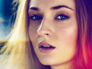 Sophie Turner Cute Face wallpaper