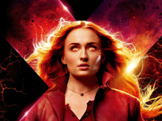 Sophie Turner Dark Phoenix 2019 Movie wallpaper