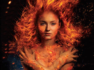 Sophie Turner In X Men Dark Phoenix 2018 wallpaper