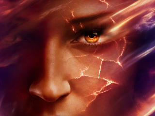Sophie Turner X-Men Dark Phoenix Poster wallpaper