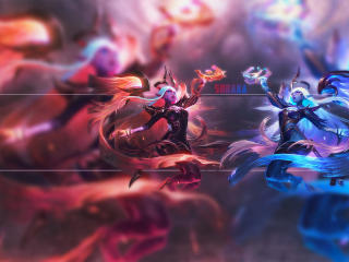 Soraka Art League Of Legends wallpaper