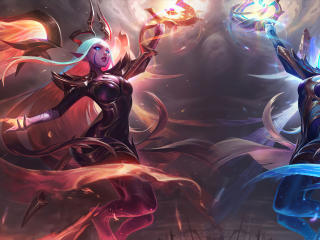 Soraka Nightbringer Dawnbringer LoL wallpaper
