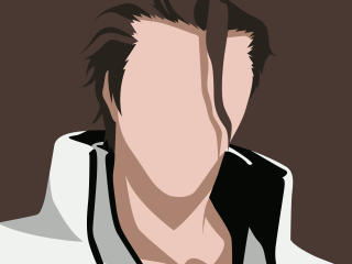 Sosuke Aizen Minimal Art wallpaper
