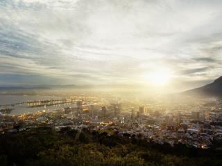 south africa, cape town, metropolis wallpaper