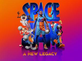Space Jam 2 LeBron James wallpaper