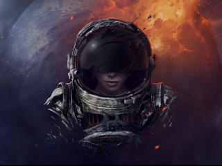Space Pilot wallpaper