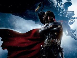 space pirate captain harlock, captain harlock, miime wallpaper