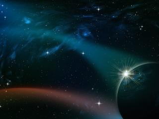 space, sky, planets wallpaper