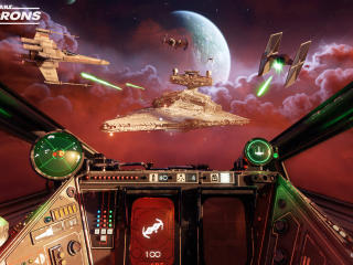 Space War in Star Wars Squadrons 2020 wallpaper