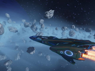 Spaceship Imperial Cutter wallpaper
