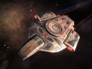 Spaceship Star Trek Online Rise of Discovery wallpaper