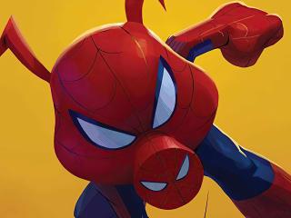 Spider-Ham Into The Spider-Verse wallpaper