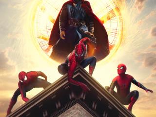Spider-Man 3 Multiverse Art wallpaper