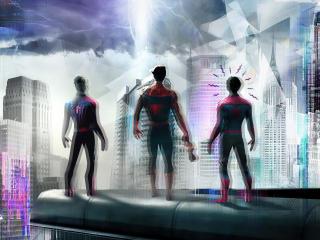Spider-Man 4K Crossover Multiverse wallpaper