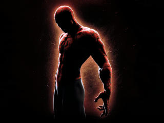 Spider Man Cool 4K Black Background wallpaper