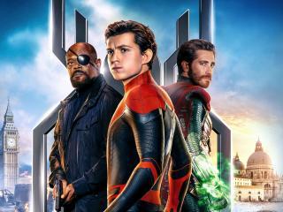 Spider Man Far From Home 12k wallpaper
