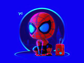 Spider Man Homecoming Cute wallpaper