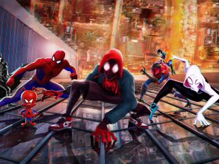 Spider-Man Into The Spider-Verse 2018 Movie wallpaper