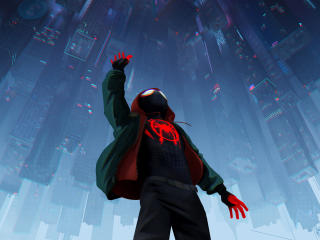 Spider-Man Into The Spider-Verse 2018 Official Poster wallpaper