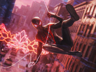 Spider-Man Miles Morales 4K Marvels wallpaper