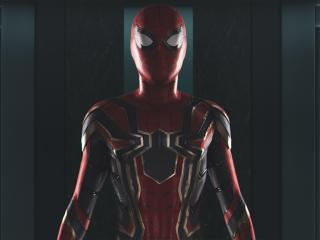 Spider-Man New Costume for Homecoming and Avengers wallpaper