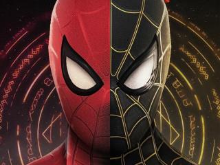 Spider-Man No Way Home Face Digital Art wallpaper